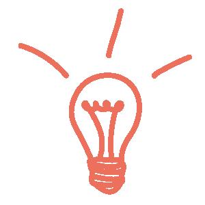 Glühbirne Scribble | Manuel Grassler - LEGO Serious Play Facilitator & Experte für Veränderungsprozesse