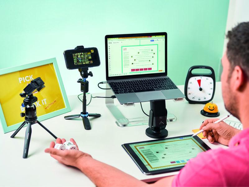 Remote Facilitation | Manuel Grassler LEGO Serious Play Facilitator & Experte für Veränderungsprozesse