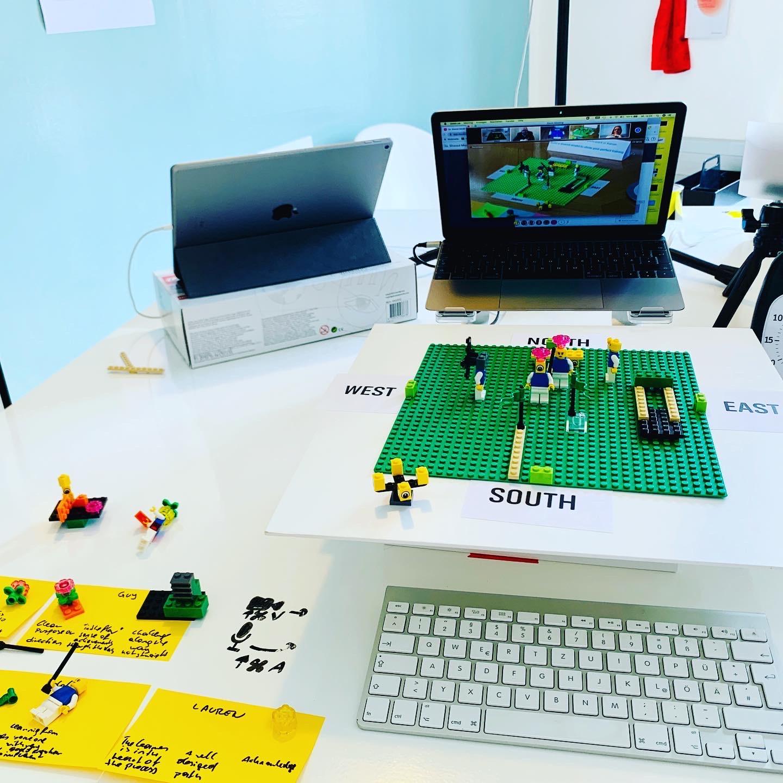 Einblick: Remote Lego Serious Play Workshop | Manuel Grassler - LEGO Serious Play Facilitator & Experte für Veränderungsprozesse