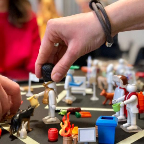 Einblick: Playmobil Pro Workshop | Manuel Grassler - LEGO Serious Play Facilitator & Experte für Veränderungsprozesse